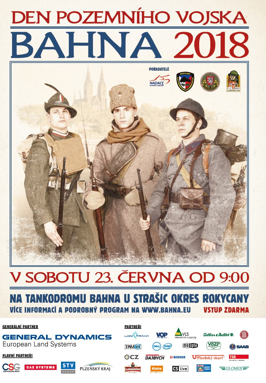 Bahna 2018 poster