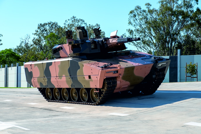 Rheinmetall recently unveiled first Australian Lynx KF41 IFV