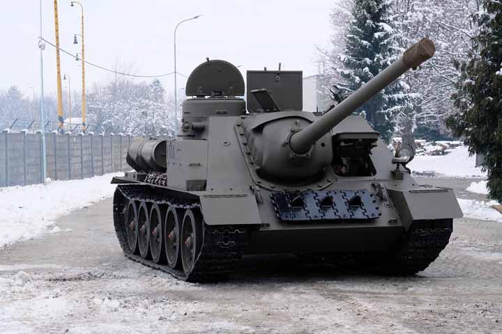 SU-100, vop.cz