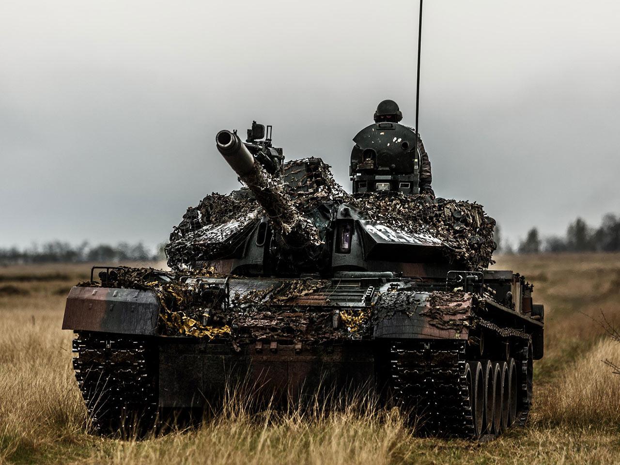 Romanian TR-85 MBT