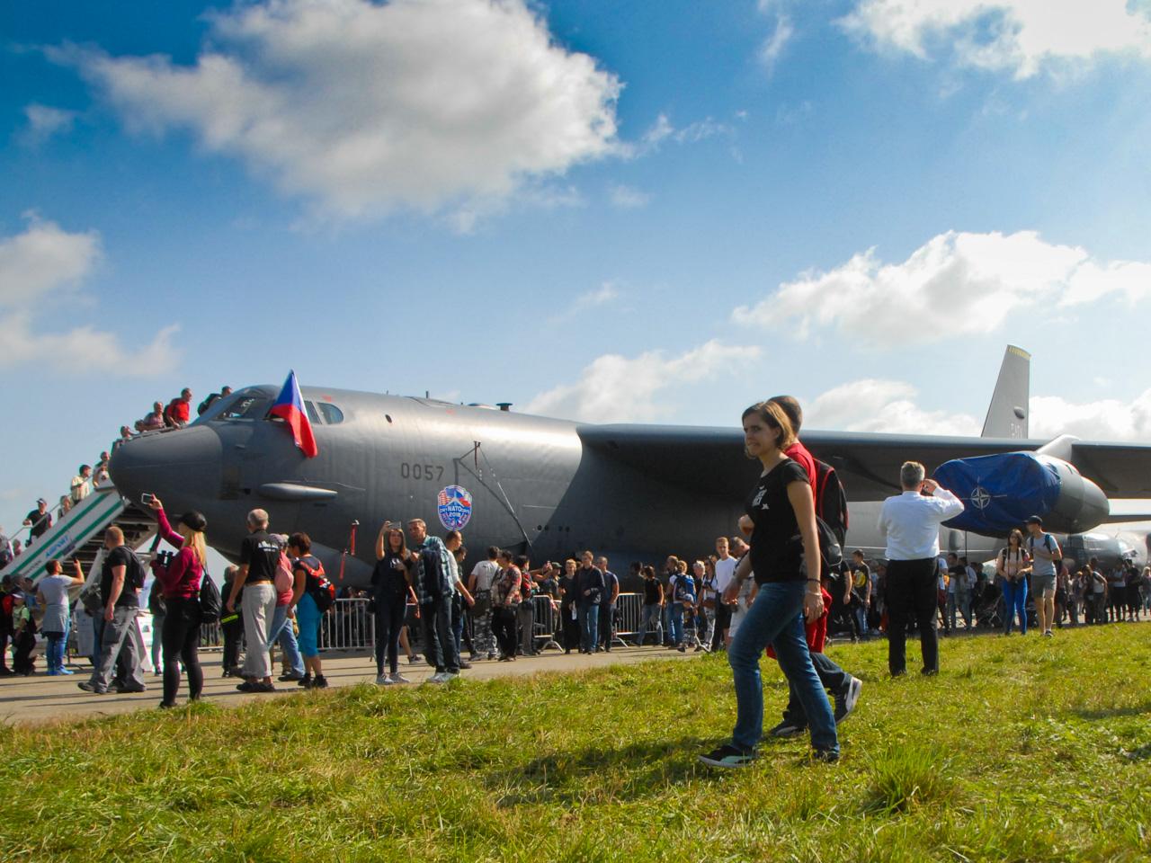B-52 during NATO Days