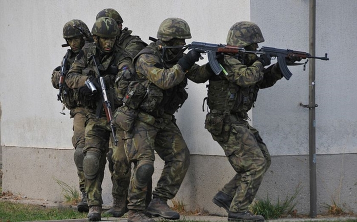 The Czech army was strenghtened by 1353 professional soldiers last year