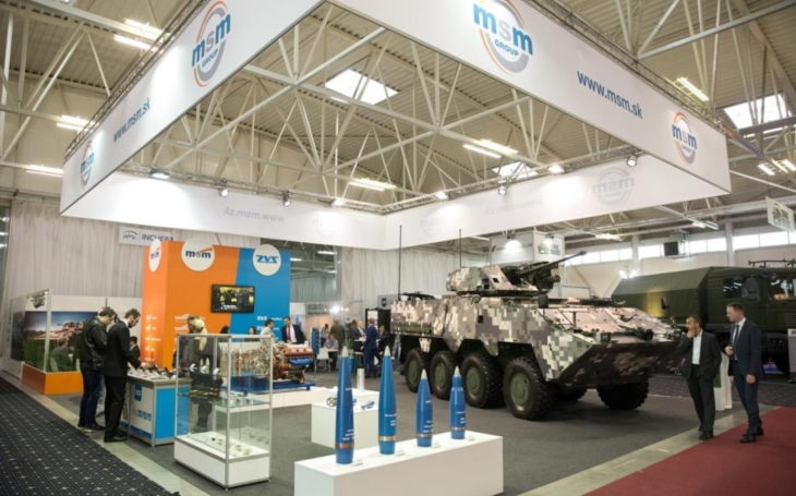 International Defence Exhibition in Bratislava