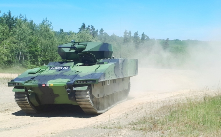 New Infantry Fighting Vehicles for the Czech Army