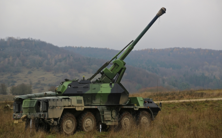 Czech Army's Modernization Projects: the Self-Propelled Artillery