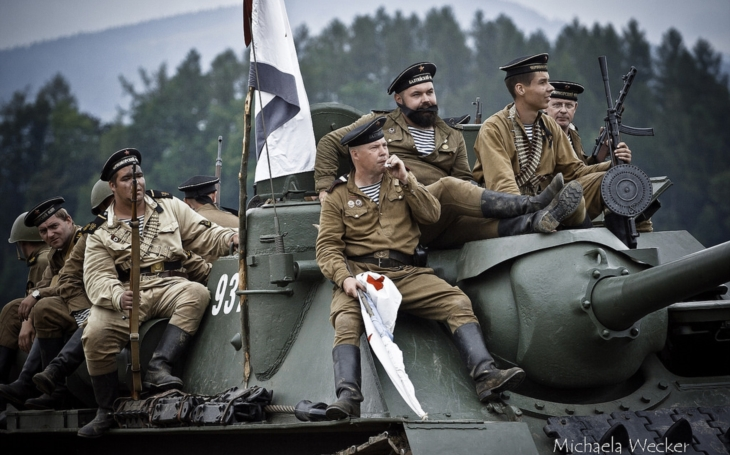 WWII re-enactments: Day of Support Forces of the Czech Army – Cihelna 2018