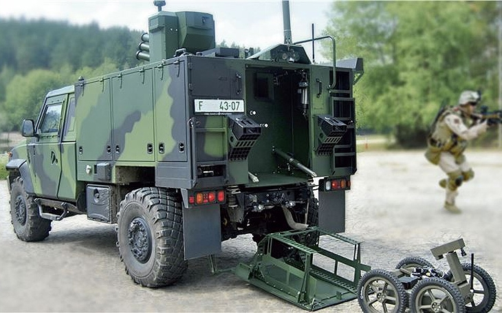 Czech Army's Modernization Projects: Light Armoured Vehicles