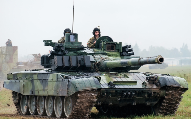 Czech Army's Modernization Projects: T-72M4 CZ Main Battle Tank