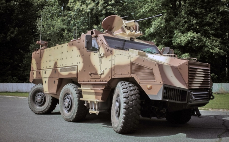 Czech Army's Modernization Projects: Wheeled Command Post Vehicles