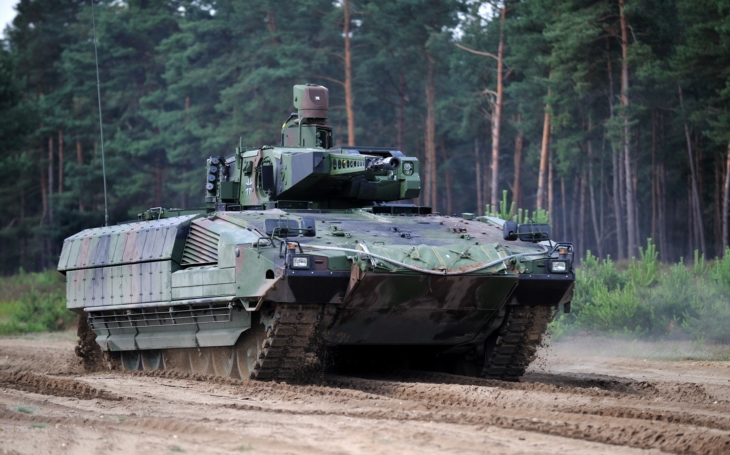 Interview - General Vollmer explains the advantages of PUMA IFV