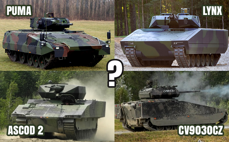 Czech Infantry Fighting Vehicle Tender – manned or unmanned turrets?
