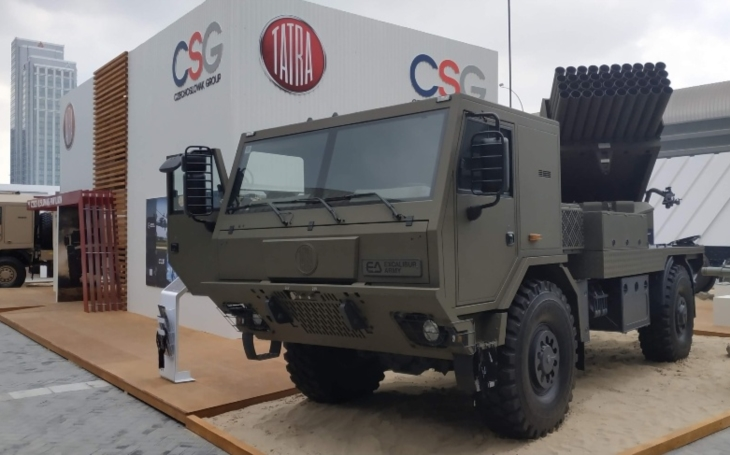 Czech defence industry at IDEX 2019 – UAE, Abu Dhabi