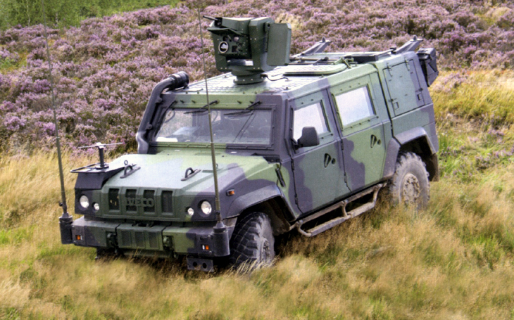The Military Technical Institute will deliver seven new LOV-Pz artillery reconnaissance vehicles