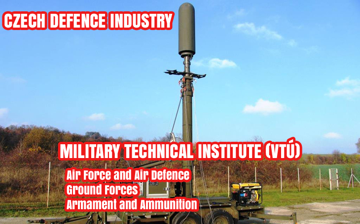 Czech Defence Industry - Military Technical Institute (VTÚ)