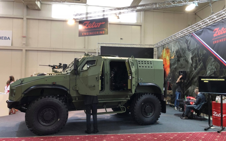 Armoured Tactical Vehicle Gerlach proved safe and mine-resistant