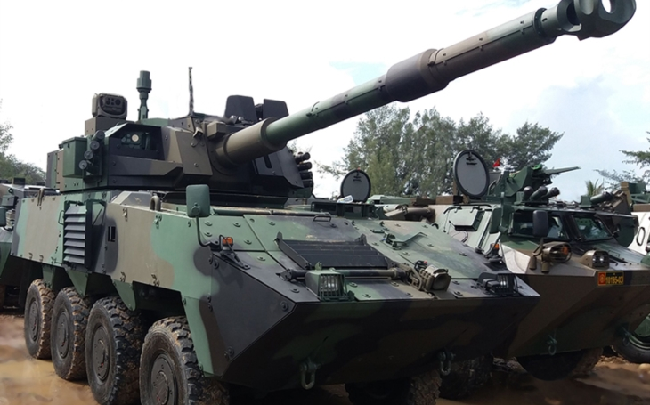Indonesia to acquire the Pandur II CZ wheeled IFVs