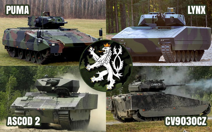 16 Uncrossable Requirements for the new Czech Tracked Infantry Fighting Vehicles