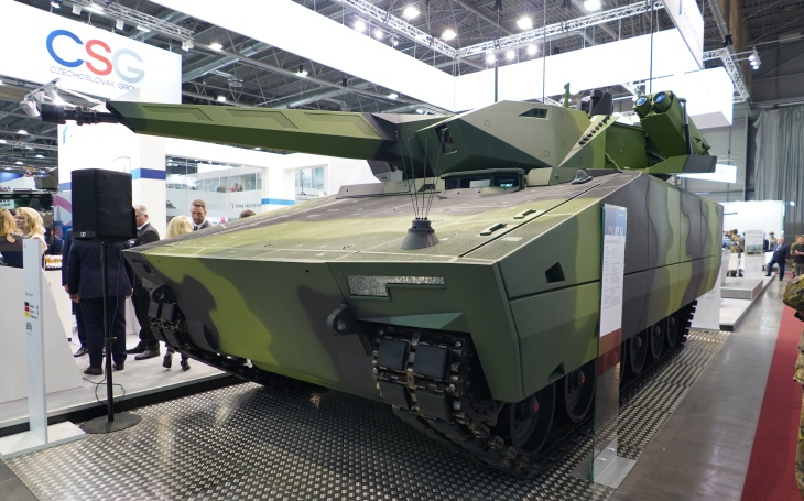 Rheinmetall at IDET 2019 – Lynx IFV and future collaboration