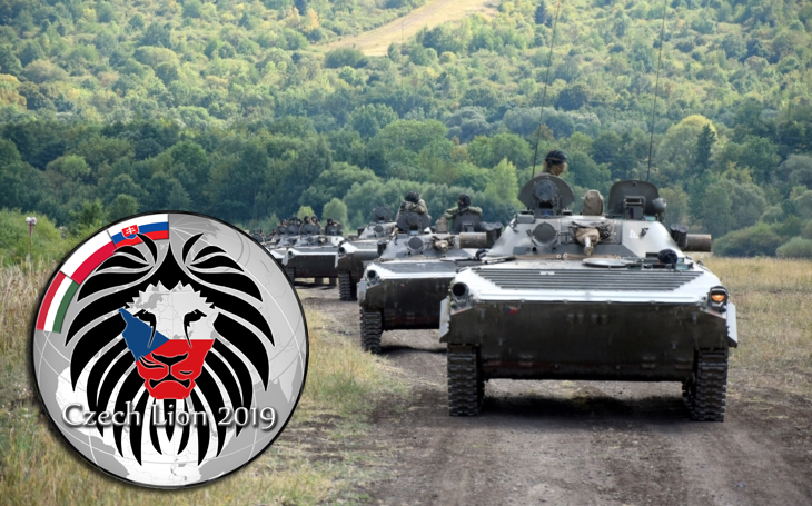 Czech Lion 2019 – V4 countries exercise, biggest in the Czech Republic
