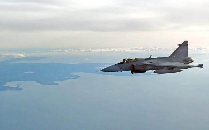 Czech fighter pilots in the Baltic have made thirteen interception takeoffs