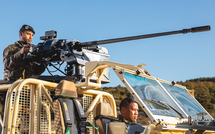 With the support of KMW, Nexter will supply equipment for Bundeswehr light vehicles