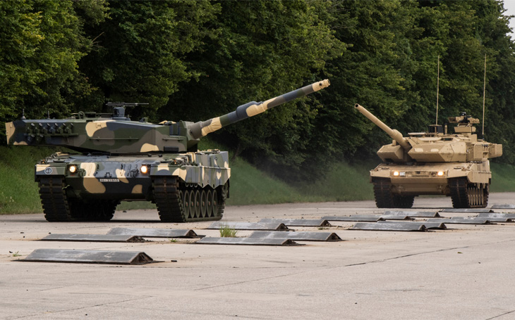 The heavy brigade's IFVs can be ready until 2026 only with a G2G agreement. Tanks should also be included