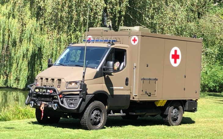 Czech Army gets new Light Terrain Vehicle of Medical Evaucation