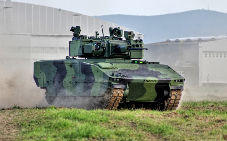 IFV ASCOD 42 was presented during the dynamic demonstrations at NATO Days 2020