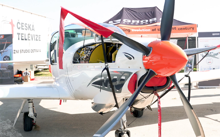GROB G 120 TP - an effective training and aerobatic aircraft used worldwide
