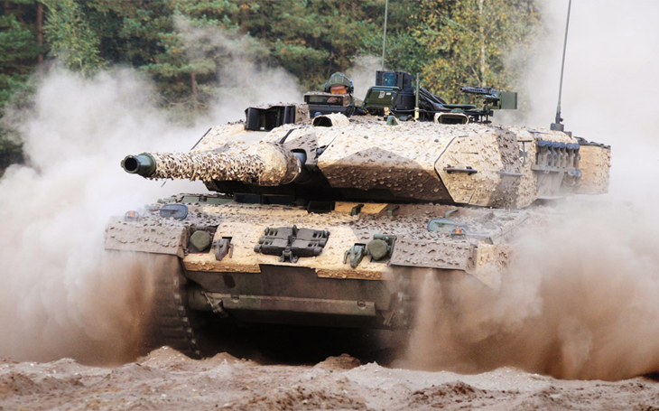 The British Army is also facing a decision on the future of its armoured corps - Leopard 2 is the best solution for it