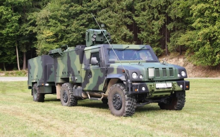 Military Technical Institute - weapon stations for artillery and CBRN protection vehicles