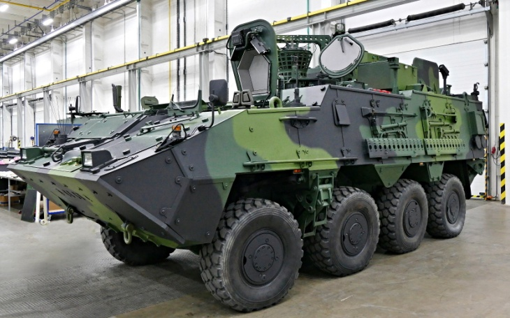 Tatra Defense Vehicle has fulfilled the Army contract for special Pandur vehicles