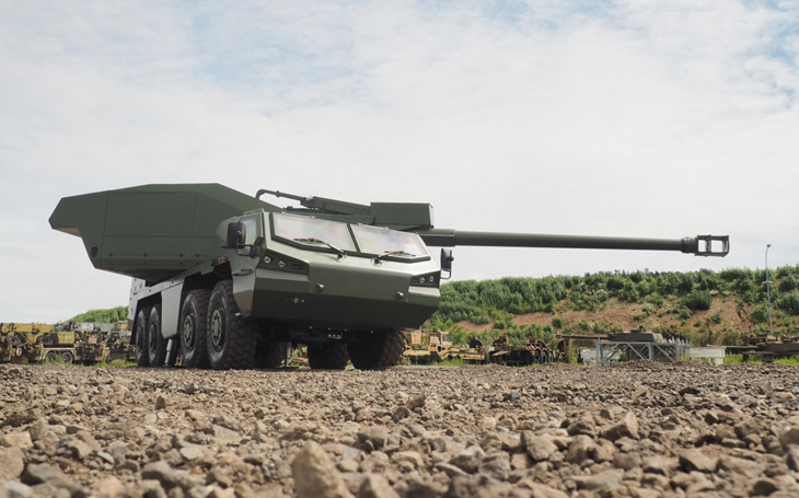 New DITA self-propelled wheeled howitzer pushes the possibilities of modern combat further