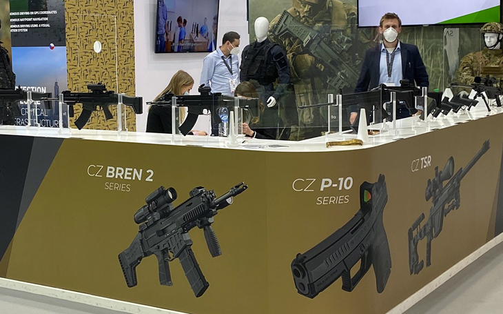 The Czech participation at IDEX 2021 is extraordinary