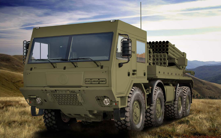 EXCALIBUR ARMY has signed an agreement on the production of rocket launchers on Tatra chassis in Indonesia