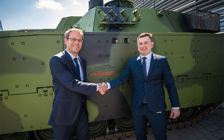 Ray Service and GDELS celebrate fifteen years of collaboration