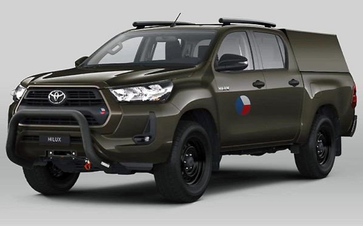 Army to receive the first new Toyota Hilux off-road vehicles in early summer