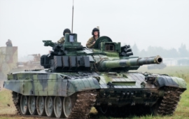 VOP CZ will provide repairs and operability of the T-72M4 CZ tanks