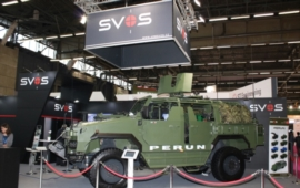 Perun 4x4 Special Operation Vehicle for the 601st SFG