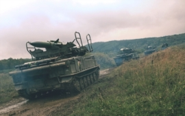 25th Air Defence Missile Regiment – 2K12 KUB exercise