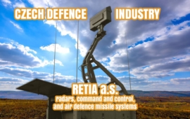 Retia a.s. - radars, command and control, air defence systems (since 1993)