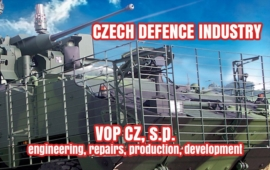 VOP CZ - military equipment engineering, repairs, production and development