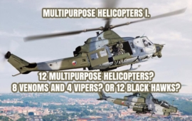 Multipurpose Helicopters for the Czech Army - Is the Italian Solution Really Out?