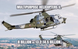 Multipurpose Helicopters - Dramatic difference of price between Italian and American solutions